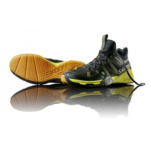Schuhe Salming Kobra Mid Black/Yellow, Salming