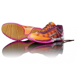 Schuhe Salming Viper 4 Women Lila / orange, Salming