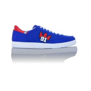 Schuhe Salming ninetyone Blue/Red	, Salming