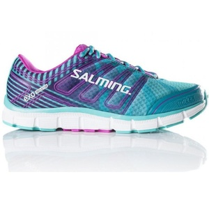 Schuhe Salming Miles Women Ceramic Grün / Azalea Pink, Salming