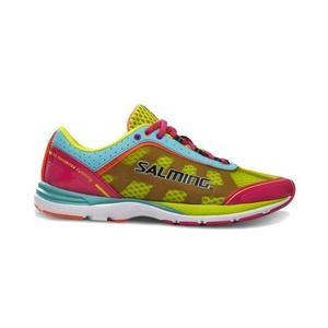 Schuhe Salming Distance 3 Women Rosa / Türkis, Salming