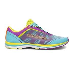 Schuhe Salming Speed 3 Women Türkis / Lila, Salming