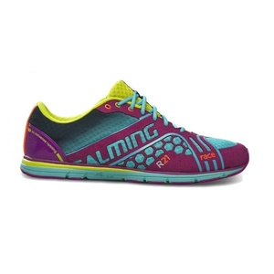 Schuhe Salming Race 3 Women Türkis / Lila, Salming
