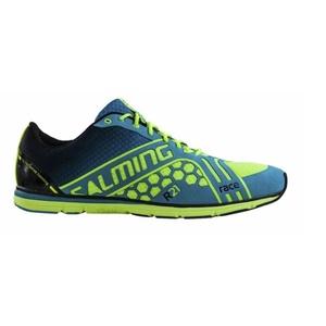Schuhe Salming Race Women Gelb / Blau, Salming