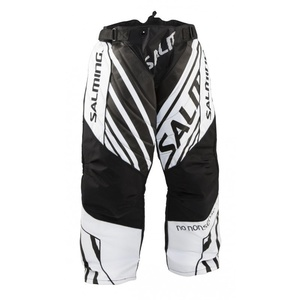 Torwart Hose Salming Phoenix Goalie Pant JUNIOR Black/White, Salming
