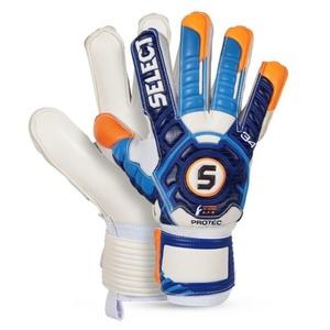 Torwart Handschuhe Select Torhüter handschuhe 34 Protec weiß blue, Select