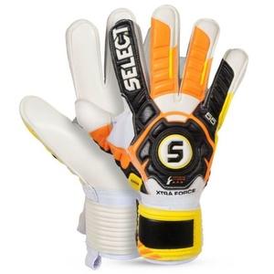 Torwart Handschuhe Select Torhüter handschuhe 55 Xtra Force schwarz yellow, Select