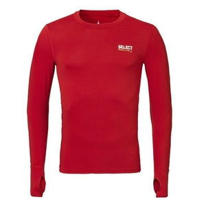 Kompression T-Shirt Select Compression T-Shirt L/S 6902 red, Select