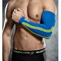 Kompression Ärmeln Select Compression arm Sleeves 6610 blue, Select