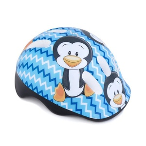 Kinder Radsport Helm Spokey PINGUIN 44-48 cm, Spokey