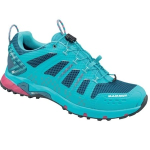 Damen Schuhe Mammut T Aenergy Low GTX Women Light pazifik-dunkel pazifik 5702, Mammut