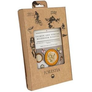 Lebensmittel Forestia Risotto mit lachs a pilze stein (mit heizgerät), Forestia