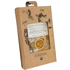 Lebensmittel Forestia Fusil all'uovo mit Huhn in bologna sauce mit Grana padano (mit heizgerät), Forestia