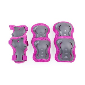 Set kinder Schützer Spokey SHIELD 3-dílná, Pink, Spokey