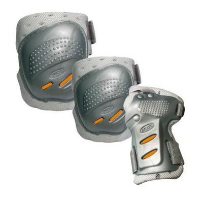 Protektoren Tempish Cool Maxa 3 silber/orange, Tempish