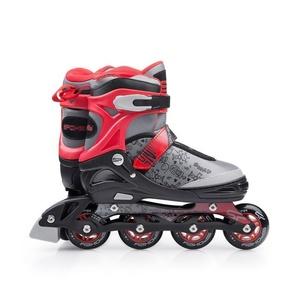 In-line Skates Spokey SNAP grau-rot, Spokey
