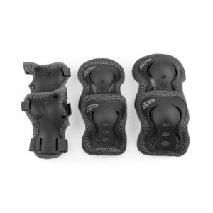 Set kinder Schützer Spokey SHIELD 3-dílná, black