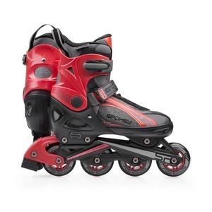 In-line Skates Spokey RENO schwarz und rot, Spokey