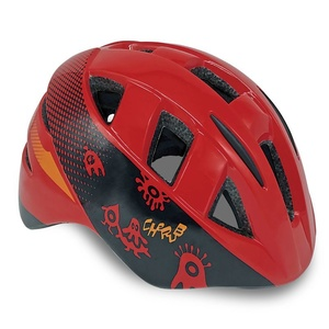 Kinder Radsport Helm Spokey CHERUB red, 48-54 cm, Spokey