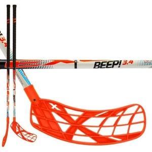 Floorball Stock Exel BEEP! 3.4 white 101 ROUND SB, Exel
