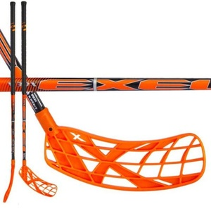 Floorball Stock Exel V30x 2.9 orange 98 ROUND SB, Exel