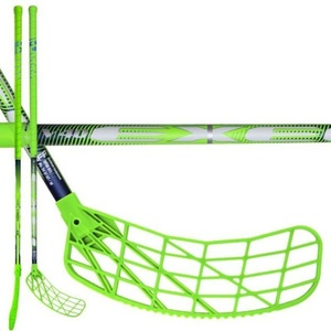 Floorball Stock Exel V40 3.4 green 87 ROUND SB '16, Exel