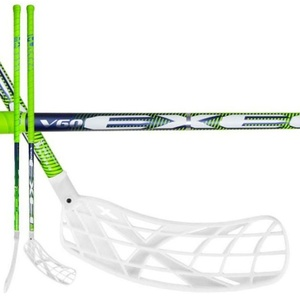 Floorball Stock V60 2.9 green 98 ROUND X-Blades MB, Exel