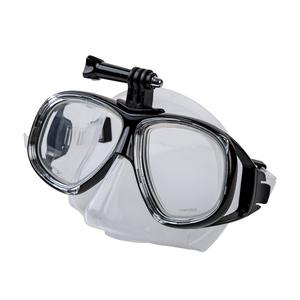 Maske  Schwimmen Spokey Tamukami CAMERA mit griff  kamera, Spokey