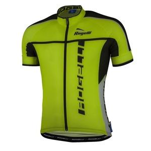 Ultraleicht Radsport Dress Rogelli UMBRIA 2.0 mit kurz Ärmeln, reflexion gelb 001.248., Rogelli