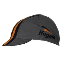 Sport- Cap Rogelli RETRO, grau-orange 009.952., Rogelli