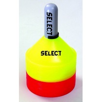 Markierung Kegel Select Marker Set 24 St. inklusive halter rot yellow, Select