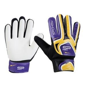 Spokey CATCH II torhüter Handschuhe gelb-lila, Spokey