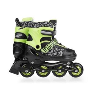 Spokey Wirbel In-line Skates, geregelt, green, Spokey