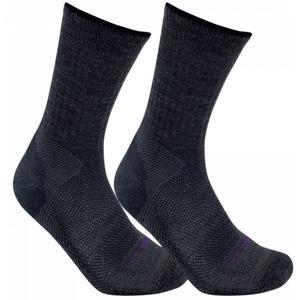 Socken LORPEN Merino Blend Light Hiker 2 Pack charchoal, Lorpen