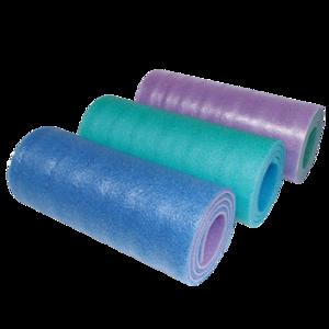 Isomatte YATE double-layer- 12 SOFT FOAM blau, grün, pink, Yate