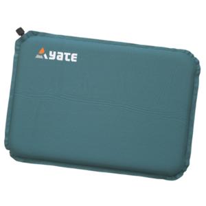Selbstaufblasbare hocker YATE grün/grau 43x30x3.1 cm, Yate