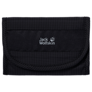 Geldbörse JACK WOLFSKIN Geldbeutel Wallet Rfid black, Jack Wolfskin