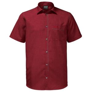 Hemden JACK WOLFSKIN El Dorado Hemd Men red, Jack Wolfskin
