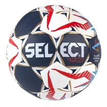 Handball Ball Select HB Ultimate Replica Champions League Men weiß red, Select