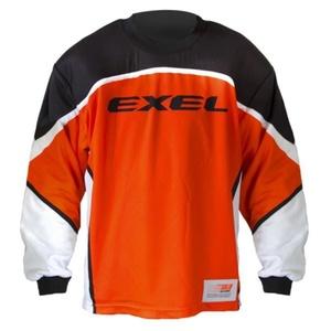 Golmanski Dress EXEL S60 GOALIE JERSEY Junior orange / schwarz, Exel