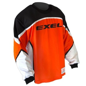 Golmanski Dress EXEL S60 GOALIE JERSEY Junior orange / schwarz, Exel