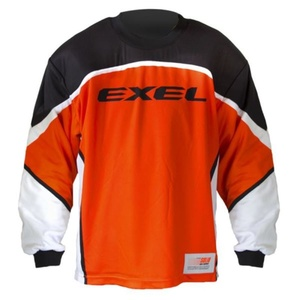 Golmanski Dress EXEL S60 GOALIE JERSEY senior orange / schwarz, Exel
