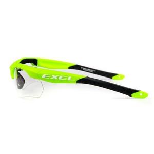 Schutz- brillenexel X100 EYE GUARD senior green, Exel