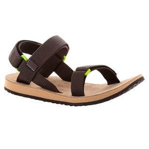 Sandalen SOURCE Urban Men's Leather Brown /Green, Source