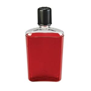 Flasche Nalgene Flask Red with Black Cap, Nalgene