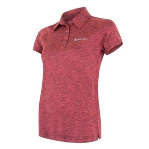Damen T-Shirt Sensor MOTION Polo Kurzarm pink, Sensor
