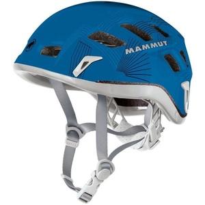 Bergsteigen Helm Mammut Rock Rider 56-61cm grau/blau, Mammut