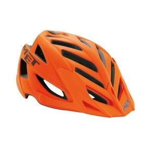 Helm Met Terra 2018 orange / schwarz / blau, Met