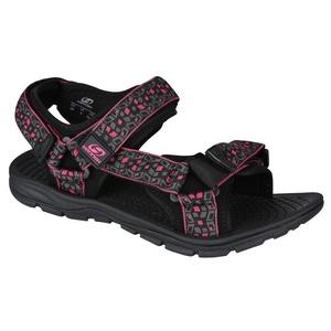 Sandalen HANNAH Feet Black/Red, Hannah
