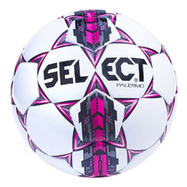 Fußball Ball Select FB Palermo weiß pink, Select